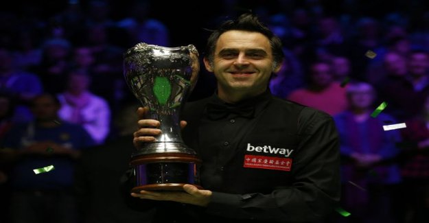 Ronnie Hallmark chasing snooker's toughest record - the understatement of the IL:an historical trick: It is what it is