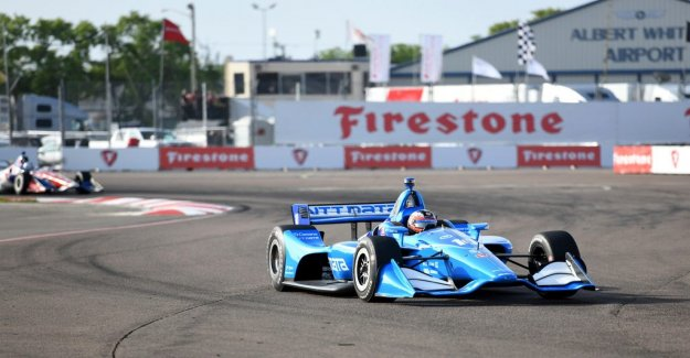 Rosenqvist four in Indycar – Ericsson broke