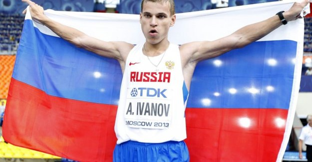 Russian dopingzondaar Ivanov must world CHAMPIONSHIPS-gold in-walk hand in