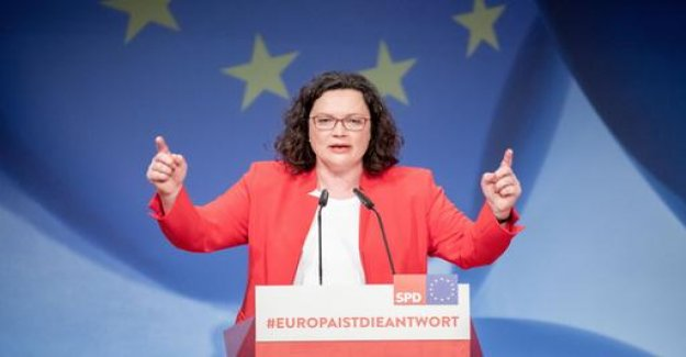 SPD-party Convention for the European elections: We need more blood,