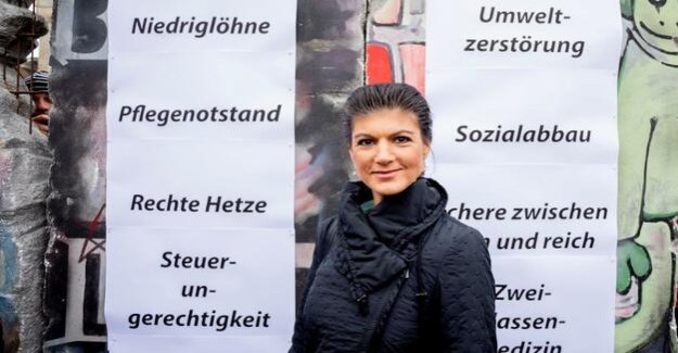 Sahra wagenknecht and Stand up : The left party has a Problem