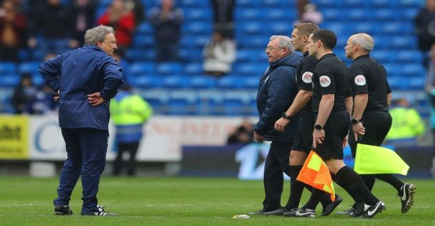 Scandal in the premier league: a Blatant referee error could be falling in struggle against fate - see the video of that paint!