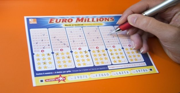 Sensitivity gains of 184 million Swiss francs in the case of Euromillions