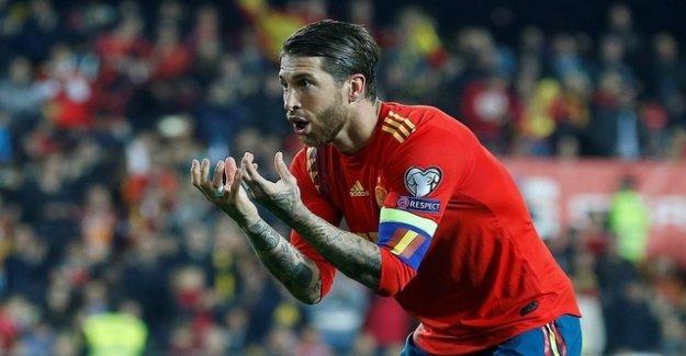 Sergio Ramos rescues Spain with a Panenka
