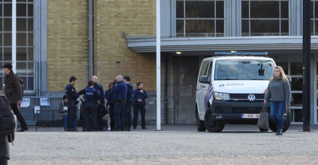 Serious problems with fighting and the young at Bruges station: often is racism the cause