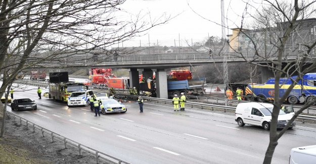 Several filmed the accident – reported by the police