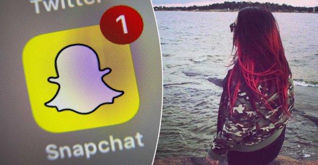 Several girls became sexually uthängda on Snapchat