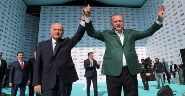 Shaky Alliance with Bahceli : Turkish rights would be for Erdogan to be dangerous