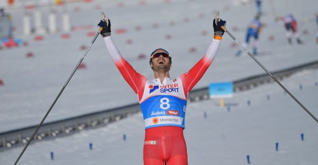 Sololopp completed Norwegian domination at the world ski CHAMPIONSHIPS
