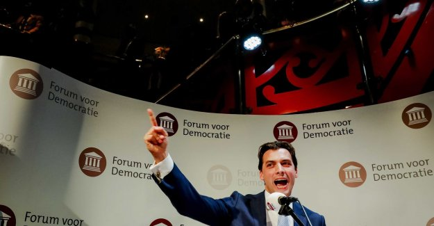 Spectacular breakthrough for the right-populist party FvD in the Netherlands: 'Imbecility' of 'onbenul' Mark Rutte is punished