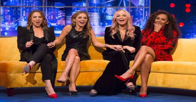 Spice Girls Mel B:from the surprising revelation - to have sex Geri Halliwell: It just happened