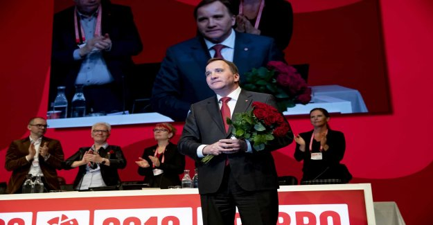 Stefan Löfven stuck between the will and choice