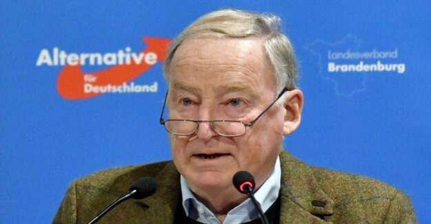 Suspicion of private tax mistakes : public Prosecutor's office determined against AfD-Chef Gauland