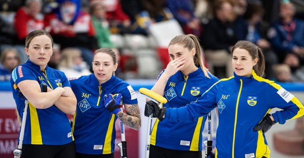 Swedish world CHAMPIONSHIP silver in Curling: Obviously, it sucks