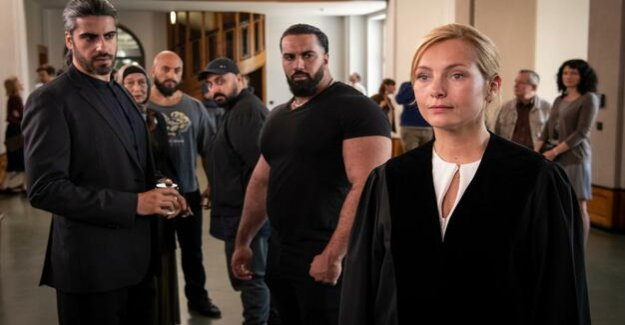 TV Drama Against the fear : Nadja Uhl in the fight against the Berlin clan
