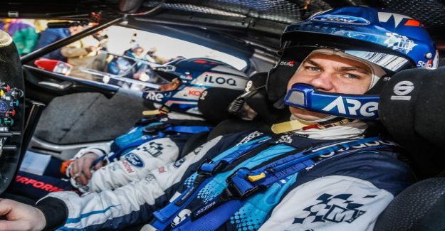 Teemu Suninen chuckled with satisfaction of Corsica rally after: This was a great result