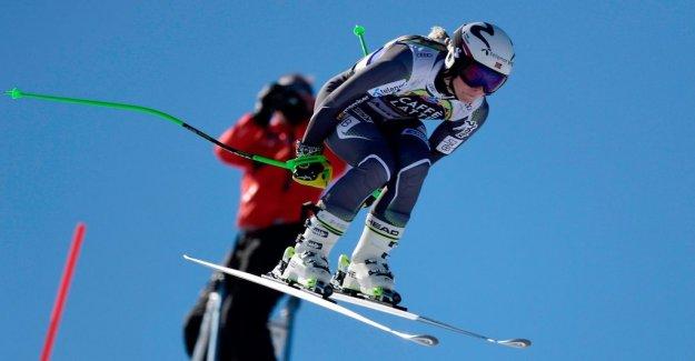 The Norwegian crashed – bad knee injury