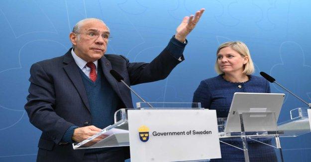 The OECD screws down Swedish growth forecast
