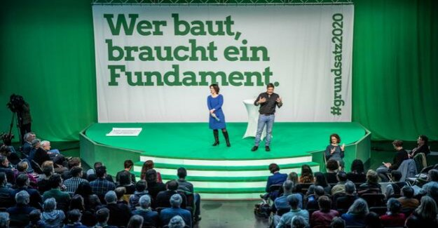 The basic programme of the Green : love all!