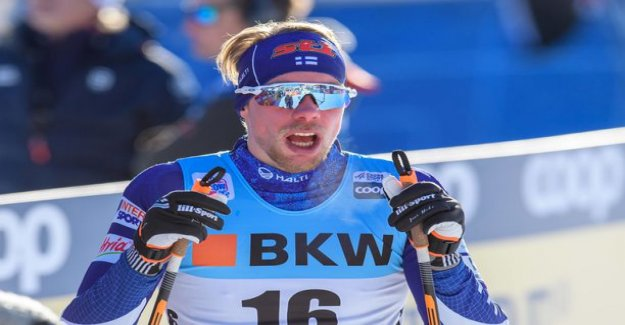 The cold ride in the semi-final - Finnish sprint men move fast enough for the top names against