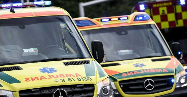 The head-on collision on E4 – three seriously injured