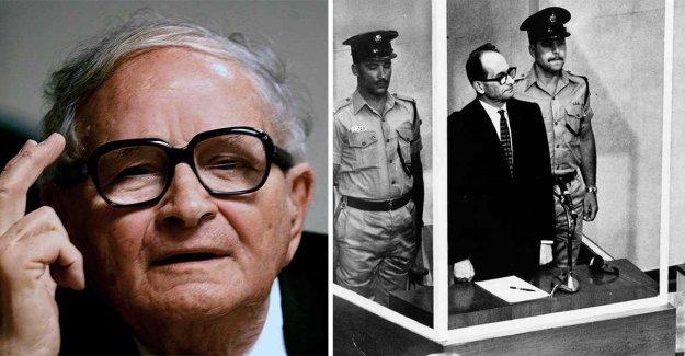 The man who captured Adolf Eichmann death