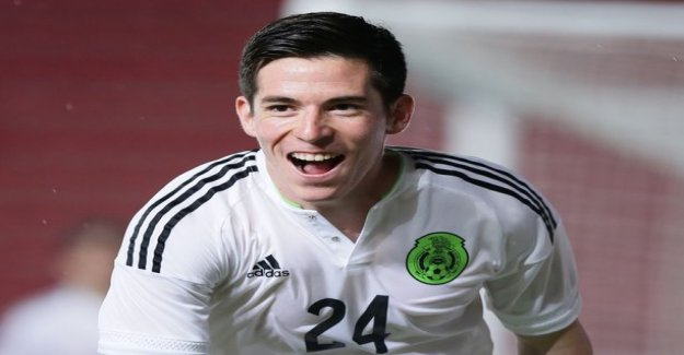 The mexican national team appeared in the striker joins HJK:no practice strength of