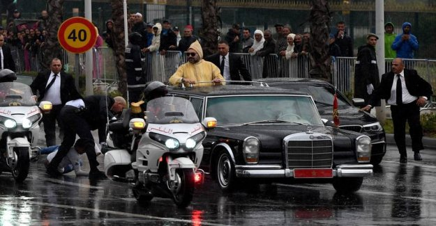 The onslaught against the motorcade: Feared for king's life