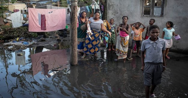 The sadness in Mozambique after the cyclone: Everything is gone