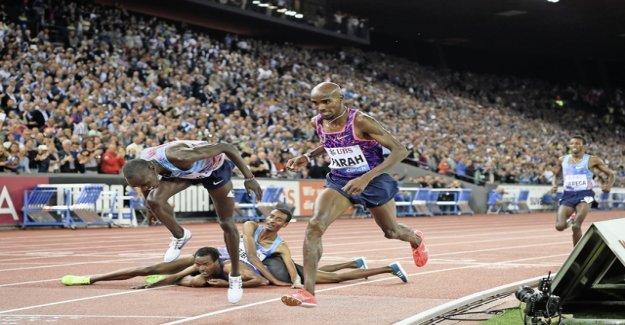 The super runner feel cheated