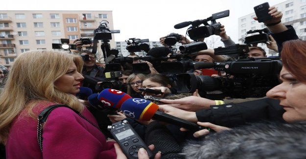 The upstart Caputová becomes president