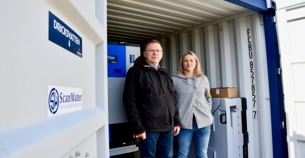 The water crisis has increased awareness in Ronneby