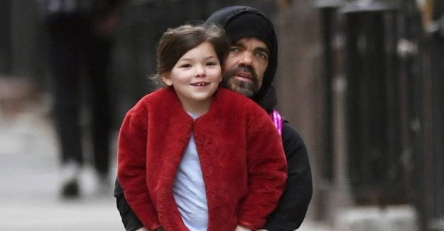 The world's most well-known dwarf on scooters with his daughter