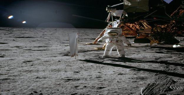 Their invention is still on the moon