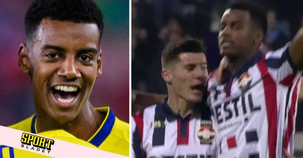 Three goals (!) on the punishment of Alexander Isaac: It was crazy