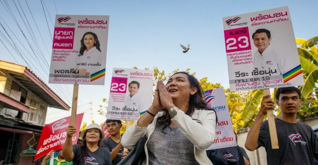 Transsexuals Pauline set up in the thai elections