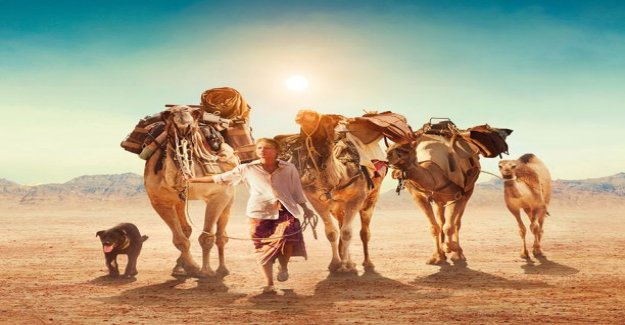 True story today on tv: a Woman, a dog and four camels roam 2 700 km