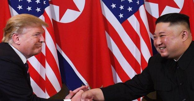 Trump stops new sanctions against north Korea