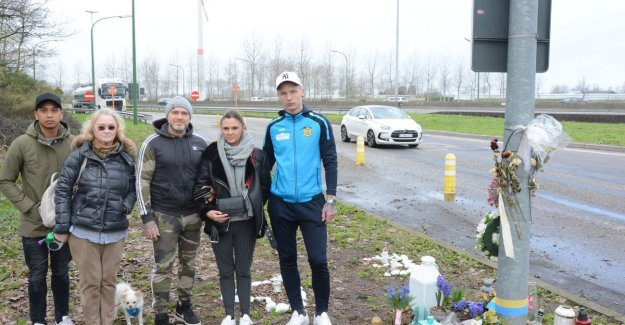 Two months after the death Ennio (25): family draws every week three times to the place of accident to foutparkerende truckers lesson games
