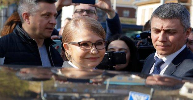 Tymoshenko knocked out in the first vallokalsundersökningen