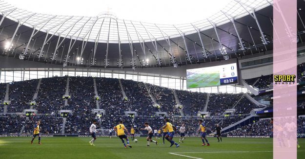 U18-the team inaugurated the new stadium – in front of 30,000