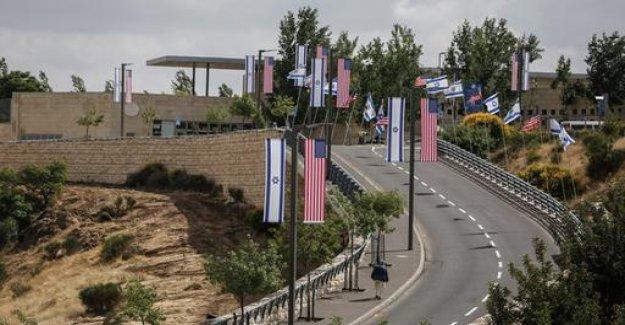 USA embarrassed Consulate in Jerusalem message