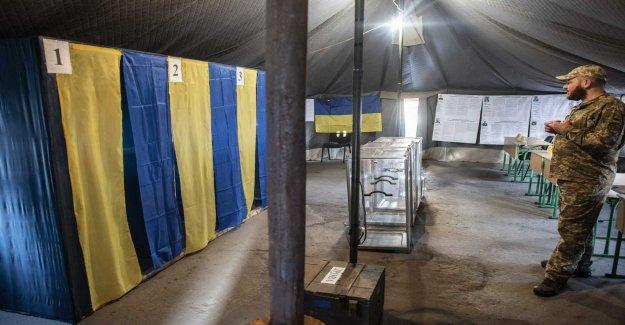 Ukraine goes to the polls