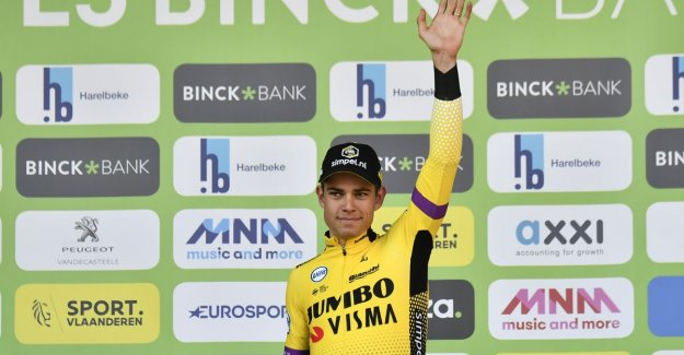 Van Aert: of Course I have to win I thought