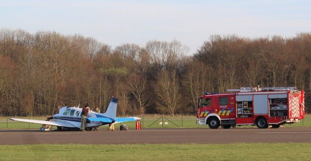 Video: plane makes emergency landing in Sint-Truiden