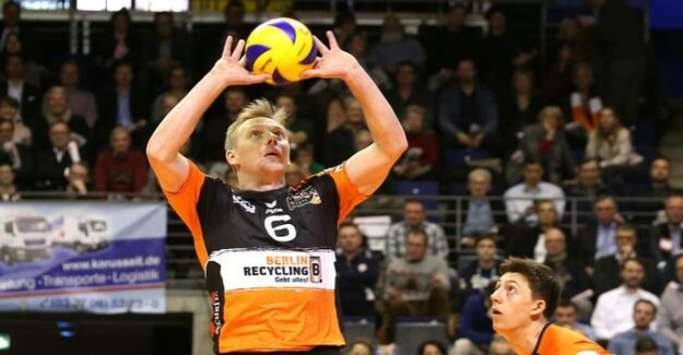 Volleyball League : BR Volleys wins against the bison Bühl
