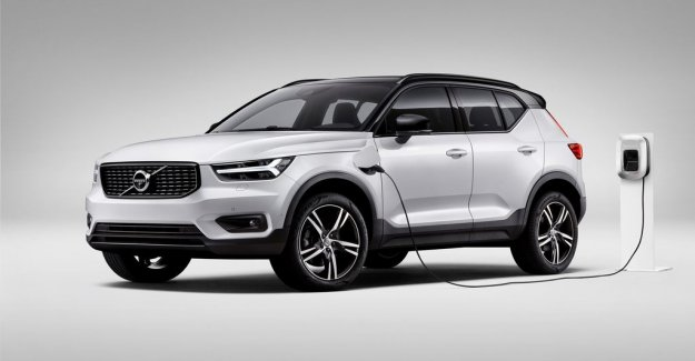 Volvo launches laddbar XC40 – but it goes only to rent