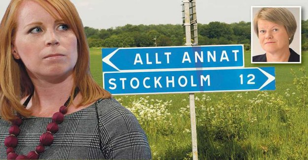 What do you have against the countryside, Lööf?