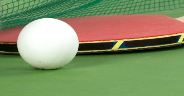 What equal cents figure is a table tennis ball diameter?