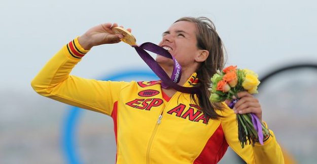 Who the finn got the olympic silver, when the win took spain's Marina Alabau?